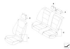 E91N 330i N53 Touring / Seats Sheepskin Seat Covers