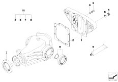 E38 750iLS M73 Sedan / Rear Axle Final Drive Gasket Set