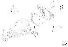 E39 528i M52 Sedan / Rear Axle/  Final Drive Gasket Set