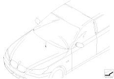 E46 330xd M57 Sedan / Universal Accessories Cover Windscreen Side Window