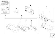 E90N 320i N43 Sedan / Bodywork Radio Remote Control