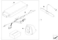 E92 325d M57N2 Coupe / Communication Systems Retrofit Kit Hands Free Kit Uni