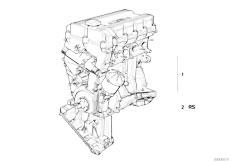 E30 318is M42 2 doors / Engine/  Short Engine