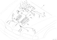 E38 L7 M73N Sedan / Engine Electrical System Engine Wiring Harness