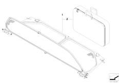 original parts for e93 325i n52n cabrio    sliding roof