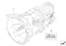 E90 320i N43 Sedan / Manual Transmission Manual Gearbox Gs6 17bg