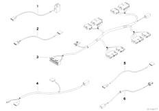 E83N X3 2.0d M47N2 SAV / Vehicle Electrical System/  Wiring Set Seat