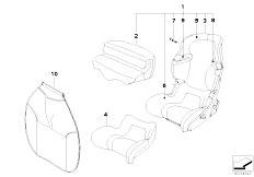 E30 318i M40 Cabrio / Universal Accessories Bmw Junior Seat I Ii