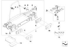 E30 318i M40 Cabrio / Universal Accessories Bicycle Rack Trailer Hitch-3