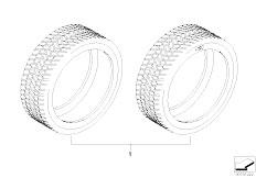 E92 323i N52N Coupe / Wheels Winter Tyre