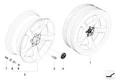 E92 323i N52N Coupe / Wheels Bmw La Wheel Star Spoke 230