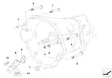 Transmission Gasket Set Genuine BMW 23111224925