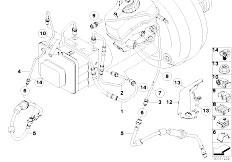 E81 118d N47 3 doors / Brakes Brake Pipe Front-2