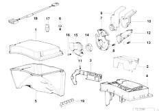 E38 L7 M73N Sedan / Engine Electrical System Control Unit Box-2