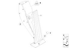 E87N 118i N43 5 doors / Pedals Acceleration Accelerator Pedal Module