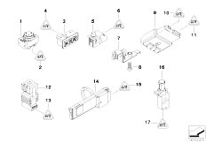 E39 520i M52 Sedan / Vehicle Electrical System/  Various Switches-2
