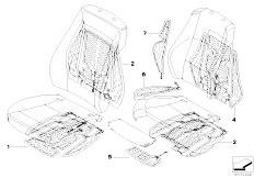 E91N 330i N53 Touring / Seats Seat Heating