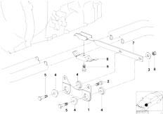 E46 323Ci M52 Coupe / Exhaust System Exhaust Suspension Parts-2