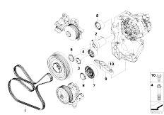 Crankshaft Drive Mass Compensator: BMW N47 Engine Diagram At Ariaseda.org