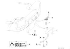 E46 330xd M57 Sedan / Universal Accessories Trailer Indiv Parts Load Ramp Catch