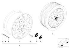 E38 750iL M73N Sedan / Wheels/  Classic Styling Styl 25