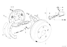 bmw e46 lighting diagram with Brake Pipe Front 5 on Index additionally Gs5s31bz Smg Counter Shaft Reverse Gear together with Retrofit Guide moreover Final Drive Gasket Set in addition Cooling System Water Hoses.