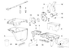 E38 L7 M73N Sedan / Engine Electrical System Control Unit Box