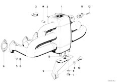 E34 535i M30 Sedan / Engine Intake Manifold System