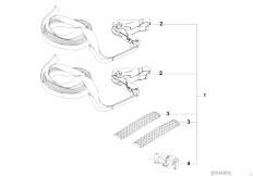 E46 330xd M57 Sedan / Universal Accessories Trailer Lashing System