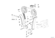 E30 318is M42 2 doors / Engine/  Timing And Valve Train Timing Chain