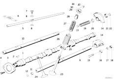E34 535i M30 Sedan / Engine Valve Timing Gear Cam Shaft