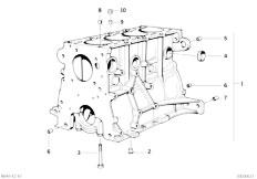 E30 318is M42 2 doors / Engine/  Engine Block