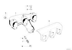 E34 535i M30 Sedan / Engine Exhaust Manifold