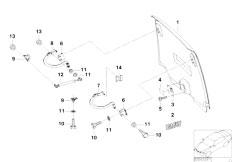 E46 330xd M57 Sedan / Universal Accessories Hood Parts Rear Door