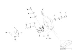 E46 330xd M57 Sedan / Universal Accessories Hood Parts Doors Locking System