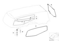 E46 330xd M57 Sedan / Universal Accessories Hood Parts Body
