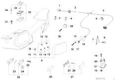 E46 330xd M57 Sedan / Universal Accessories Trailer Indiv Parts Electr System