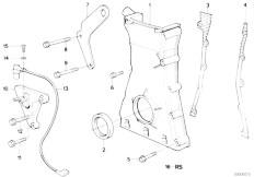 E34 535i M30 Sedan / Engine Lower Timing Case