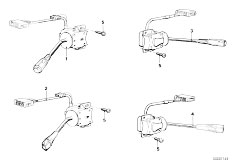 E12 520 M10 Sedan / Vehicle Electrical System Steering Column Switch