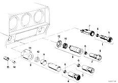 E12 520 M10 Sedan / Vehicle Electrical System Switch Cigar Lighter