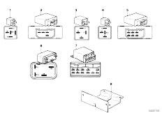 E12 520 M10 Sedan / Vehicle Electrical System Relay-2
