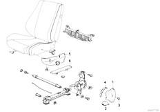 E30 325i M20 Cabrio / Seats Bmw Sports Seat Coverings