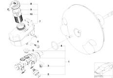 E46 316ti N42 Compact / Brakes/  Brake Master Cylinder Dsc