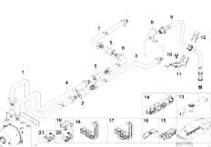 E46 316ti N42 Compact / Brakes/  Rear Brake Pipe Dsc-2
