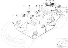 Original Parts for Z3 Z3 1.9 M44 Roadster / Audio Navigation ... on