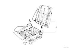 E30 325i M20 Cabrio / Seats Bmw Repair Sports Seat