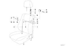 E30 325i M20 Cabrio / Seats Bmw Sports Seat Unlocking