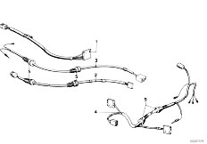 E12 520 M10 Sedan / Vehicle Electrical System Wiring For Mirror And Add Mirror