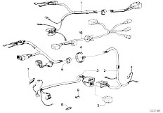 E12 520 M10 Sedan / Vehicle Electrical System Wiring Harness Levelling Device