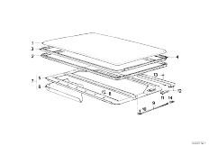 ... E30 318i M40 2 doors / Sliding Roof Folding Top/ Slid Lift Roof Cover Ceiling  sc 1 st  eStore-Central.com & Original Parts for E30 318i M40 2 doors / Sliding Roof Folding Top ...